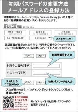 パスワード変更1