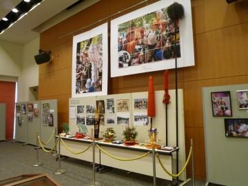 桑名の神事の、貴重な資料が展示されました。